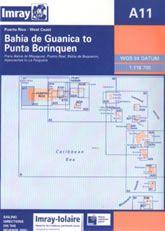Imray A Chart - Bahia De Guanica To Punta Borinquen (A11)