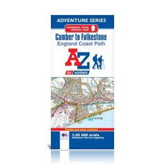 A-Z Adventure Atlas - Camber To Folkestone, England Coast Path