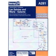 Imray A Chart - Guadeloupe - Les Saintes & Marie Galante (A281)