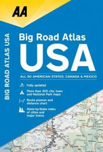 AA - Road Atlas - USA