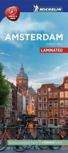 Michelin Laminated Citymap - Amsterdam