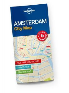 Lonely Planet - City Map - Amsterdam