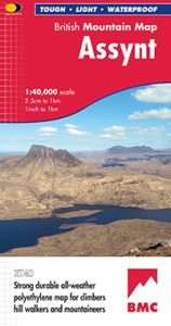 Harvey British Mountain Map - BMC - Assynt & Coigach