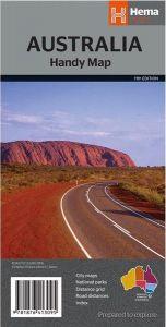 Hema General Map - Australia Handy