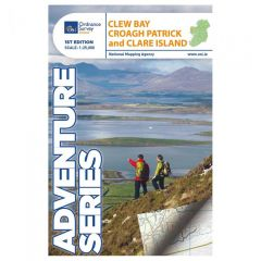 OS ROI Adventure Series Map - Clew Bay, Croagh Patrick & Clare Island