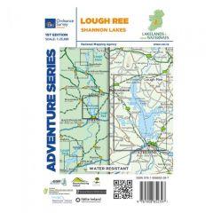 OS ROI Adventure Series Map - Lough Ree