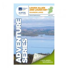 OS ROI Adventure Series Map - Lough Allen & Lough Key