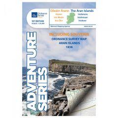 OS ROI Adventure Series Map - The Aran Islands - Oileáin Árann