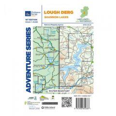 OS ROI Adventure Series Map - Lough Derg
