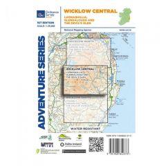 OS ROI Adventure Series Map - Wicklow Central - Lugnaquillia, Glendalough, Devils Glen