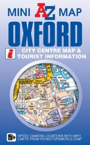 A-Z Mini Map - Oxford