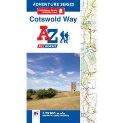A-Z Adventure Atlas - Cotswold Way
