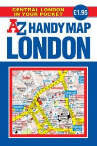 A-Z Handy Map - Central London