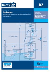 Imray B Chart - Barbados (B2 )