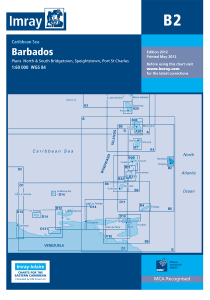 Imray B Chart - Barbados (B2 )