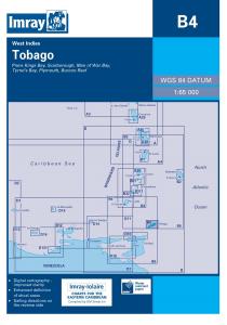 Imray B Chart - Tobago (B4 )