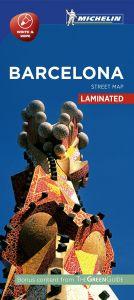 Michelin Laminated Citymap - Barcelona