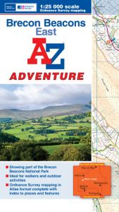 A-Z Adventure Atlas - Brecon Beacons East