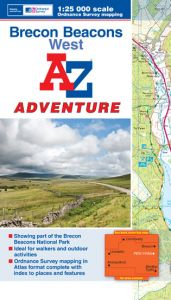 A-Z Adventure Atlas - Brecon Beacons West