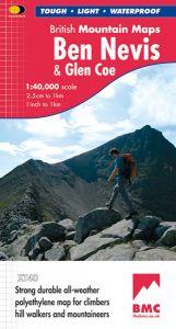 Harvey British Mountain Map - BMC - Ben Nevis & Glen Coe