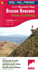 Harvey British Mountain Map - BMC - Brecon Beacons