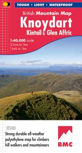 Harvey British Mountain Map - BMC - Knoydart & Kintail