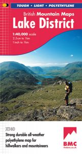 Harvey British Mountain Map - BMC - Lake District