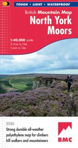 Harvey British Mountain Map - BMC - North York Moors