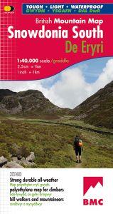 Harvey British Mountain Map - BMC - Snowdonia South