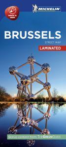 Michelin Laminated Citymap - Brussels