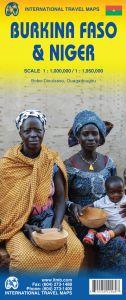ITMB - World Maps - Burkina Faso & Niger