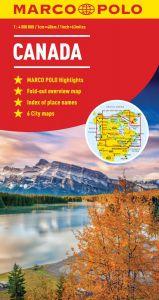 Canada Marco Polo Map
