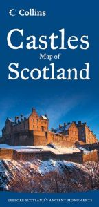Collins - Castles Map Of Scotland