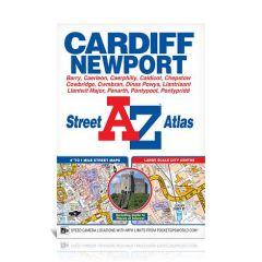 A-Z Street Atlas - Cardiff & Newport