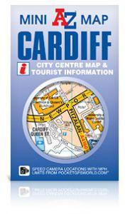 A-Z Mini Map - Cardiff