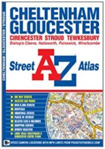 A-Z Street Atlas - Cheltenham, Gloucester & Stroud