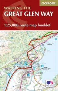 Cicerone - National Trail Map Booklet - The Great Glen Way (MB)
