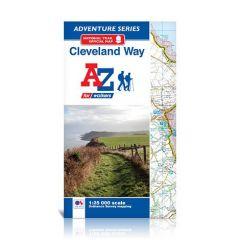 A-Z Adventure Atlas - Cleveland Way