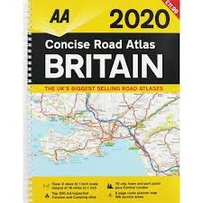 AA - Concise Atlas - Britain (Spiral)