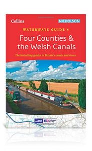 Collins Nicholson - Waterways Guide - Four Counties & The Welsh Canals