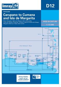 Imray D Chart - Carupano To Cumana & Isla De Margarita (D12)