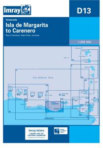 Imray D Chart - Isla De Margarita To Caranero (D13)