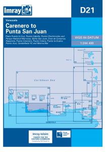 Imray D Chart - Caranero To Punta San Juan (D21)