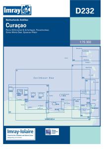 Imray D Chart - Curacao (D232)