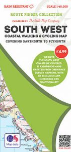 The Little Map Company - Route Finder - Dartmouth To Plymouth