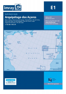 Imray E Chart - Azores (E1 )