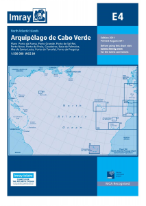 Imray E Chart - Cape Verde Islands (E4 )