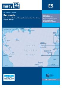Imray E Chart - Bermuda (E5 )