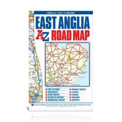 A-Z Road Map - East Anglia