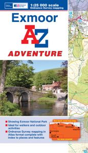 A-Z Adventure Atlas - Exmoor